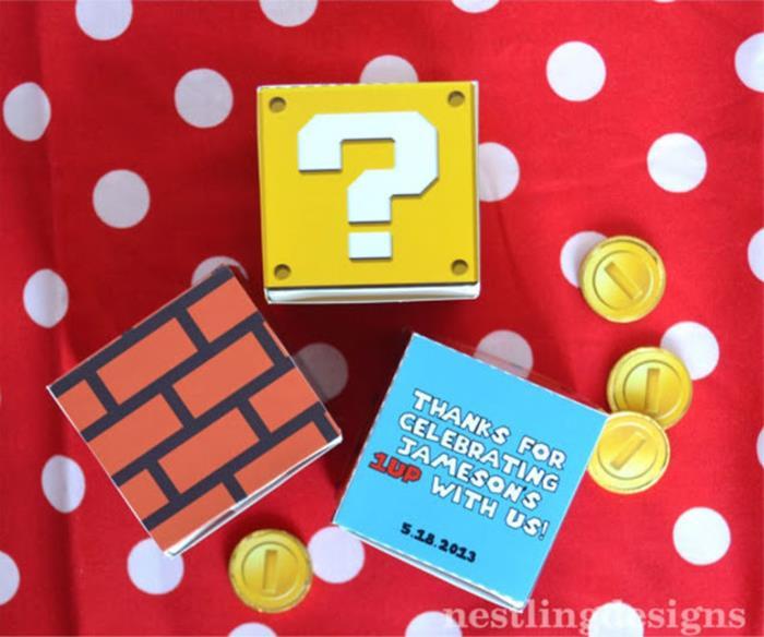 Kara's Party Ideas Super Mario Birthday Party via Kara's ...
