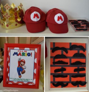 Super Mario Brothers Birthday Party #planning #ideas #decorations #cake #idea (48)
