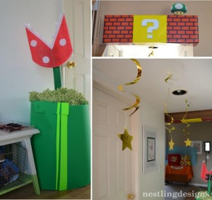 Super Mario Brothers Birthday Party #planning #ideas #decorations #cake #idea (46)