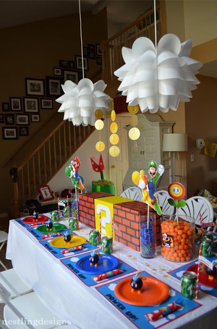 Kara's Party Ideas » Super Mario Birthday Party via Kara's ...