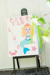 Mermaid Princess Party via Kara's Party Ideas #mermaid #party #planning #idea #decorations #birthday #girl (16)