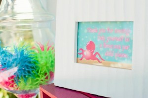 Mermaid Princess Party via Kara's Party Ideas #mermaid #party #planning #idea #decorations #birthday #girl (15)