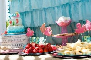 Mermaid Princess Party via Kara's Party Ideas #mermaid #party #planning #idea #decorations #birthday #girl (13)