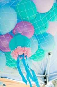 Mermaid Princess Party via Kara's Party Ideas #mermaid #party #planning #idea #decorations #birthday #girl (32)