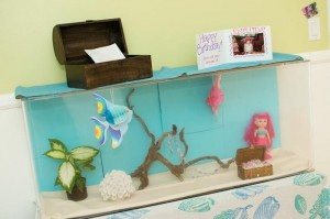 Mermaid Princess Party via Kara's Party Ideas #mermaid #party #planning #idea #decorations #birthday #girl (30)