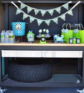 #MonsterTruck #planning #idea #boy #decorations #printables (8)