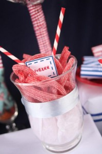 Nautical Themed Party via Kara's Party Ideas | Kara'sPartyIdeas.com #Nautical #Boat #Sailor #Party #Idea #Supplies (26)