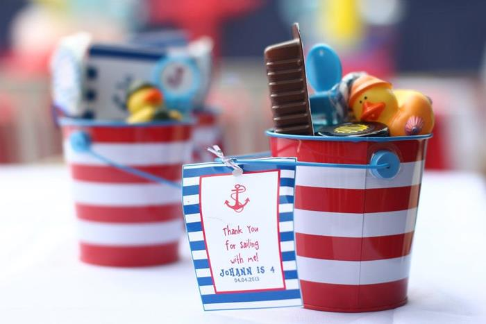 Nautical Themed Birthday Party Supplies Part - 25: Nautical Themed Party Via Karau0027s Party Ideas | Karau0027sPartyIdeas.com # Nautical #