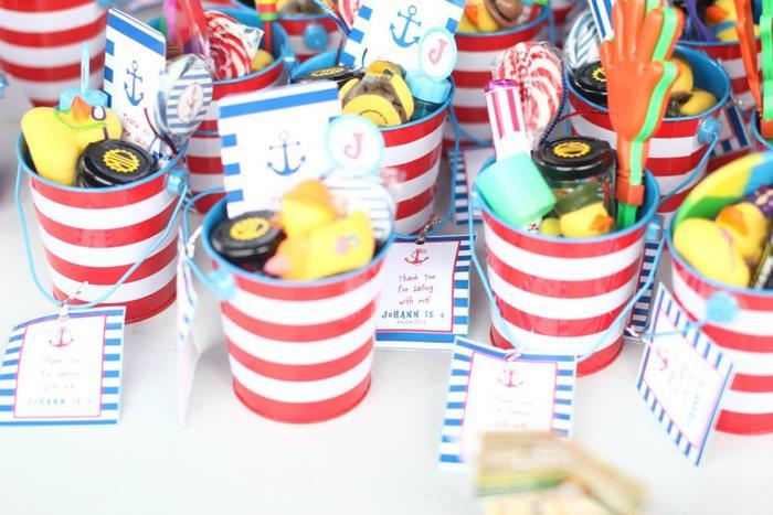 Delightful Nautical Themed Birthday Party Supplies Part - 14: Nautical Themed Party Via Karau0027s Party Ideas | Karau0027sPartyIdeas.com # Nautical #