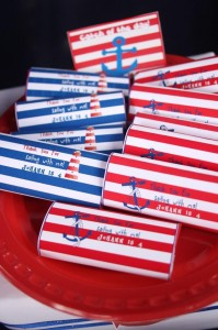 Nautical Themed Party via Kara's Party Ideas | Kara'sPartyIdeas.com #Nautical #Boat #Sailor #Party #Idea #Supplies (21)