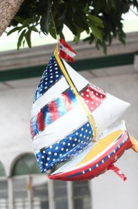 Nautical Themed Party via Kara's Party Ideas | Kara'sPartyIdeas.com #Nautical #Boat #Sailor #Party #Idea #Supplies (18)