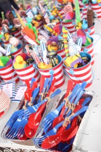 Nautical Themed Party via Kara's Party Ideas | Kara'sPartyIdeas.com #Nautical #Boat #Sailor #Party #Idea #Supplies (14)