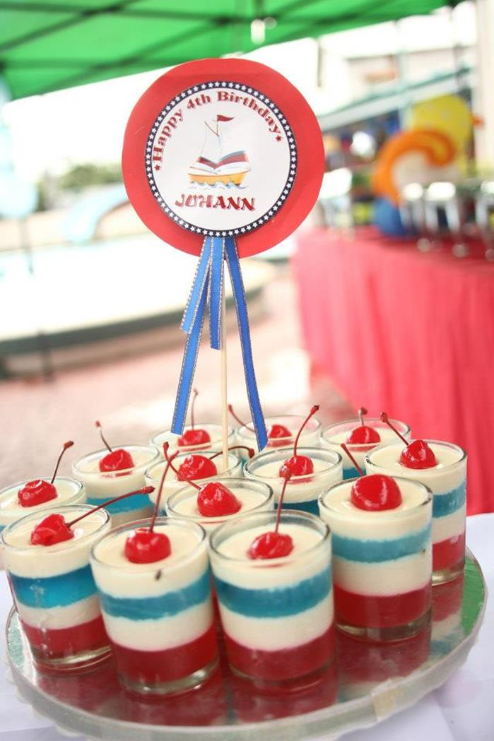 Kara S Party Ideas Nautical Themed Party Via Kara S Party