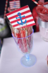 Nautical Themed Party via Kara's Party Ideas | Kara'sPartyIdeas.com #Nautical #Boat #Sailor #Party #Idea #Supplies (10)