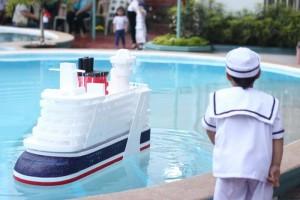 Nautical Themed Party via Kara's Party Ideas | Kara'sPartyIdeas.com #Nautical #Boat #Sailor #Party #Idea #Supplies (3)