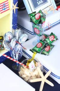 Nautical Themed Party via Kara's Party Ideas | Kara'sPartyIdeas.com #Nautical #Boat #Sailor #Party #Idea #Supplies (30)