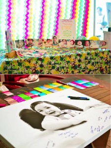 Pantone Art Birthday Party via Kara's Party Ideas | Kara'sPartyIdeas.com #Art #Party #Ideas #Supplies (27)