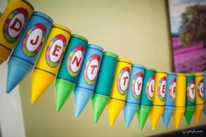 Pantone Art Birthday Party via Kara's Party Ideas | Kara'sPartyIdeas.com #Art #Party #Ideas #Supplies (23)