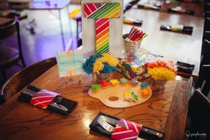 Pantone Art Birthday Party via Kara's Party Ideas | Kara'sPartyIdeas.com #Art #Party #Ideas #Supplies (18)