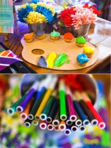 Pantone Art Birthday Party via Kara's Party Ideas | Kara'sPartyIdeas.com #Art #Party #Ideas #Supplies (44)