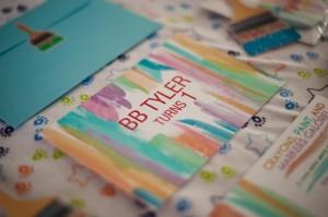 Pantone Art Birthday Party via Kara's Party Ideas | Kara'sPartyIdeas.com #Art #Party #Ideas #Supplies (14)