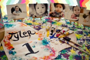 Pantone Art Birthday Party via Kara's Party Ideas | Kara'sPartyIdeas.com #Art #Party #Ideas #Supplies (4)
