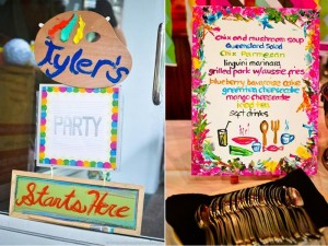 Pantone Art Birthday Party via Kara's Party Ideas | Kara'sPartyIdeas.com #Art #Party #Ideas #Supplies (40)