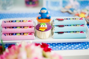 Girly Pocoyo Party via Kara's Party Ideas | Kara'sPartyIdeas.com #Girly #Pocoyo #Party #Planning #Idea #Decorations (24)