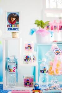 Girly Pocoyo Party via Kara's Party Ideas   Kara'sPartyIdeas.com #Girly #Pocoyo #Party #Planning #Idea #Decorations (20)