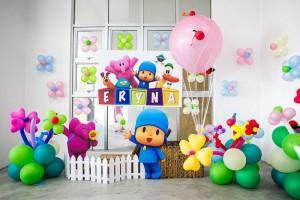 Girly Pocoyo Party via Kara's Party Ideas | Kara'sPartyIdeas.com #Girly #Pocoyo #Party #Planning #Idea #Decorations (19)