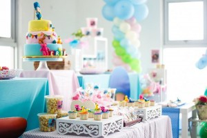 Girly Pocoyo Party via Kara's Party Ideas | Kara'sPartyIdeas.com #Girly #Pocoyo #Party #Planning #Idea #Decorations (15)