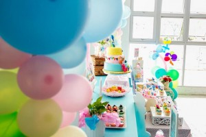 Girly Pocoyo Party via Kara's Party Ideas | Kara'sPartyIdeas.com #Girly #Pocoyo #Party #Planning #Idea #Decorations (12)