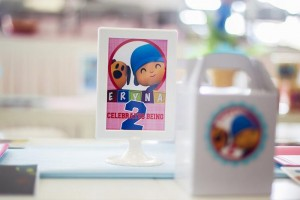 Girly Pocoyo Party via Kara's Party Ideas | Kara'sPartyIdeas.com #Girly #Pocoyo #Party #Planning #Idea #Decorations (8)