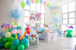 Girly Pocoyo Party via Kara's Party Ideas | Kara'sPartyIdeas.com #Girly #Pocoyo #Party #Planning #Idea #Decorations (29)