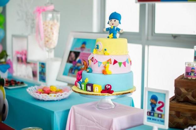 Girly Pocoyo Party via Kara's Party Ideas | Kara'sPartyIdeas.com #Girly #Pocoyo #Party #Planning #Idea #Decorations (28)