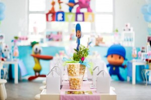 Girly Pocoyo Party via Kara's Party Ideas | Kara'sPartyIdeas.com #Girly #Pocoyo #Party #Planning #Idea #Decorations (27)