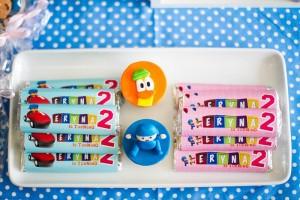 Girly Pocoyo Party via Kara's Party Ideas | Kara'sPartyIdeas.com #Girly #Pocoyo #Party #Planning #Idea #Decorations (26)