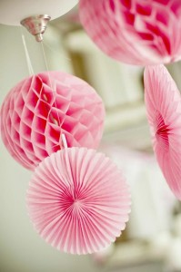 #pink #party #idea #girl #1st #deorations (6)