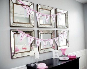 #pink #party #idea #girl #1st #deorations (3)