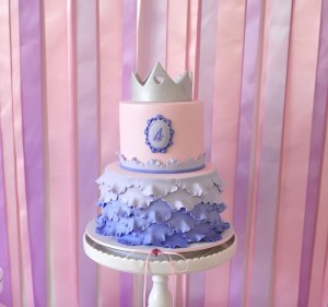 Princess Party via Kara's Party Ideas #decorations #cake #idea #castle #DressUp (23)