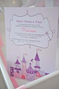 Princess Party via Kara's Party Ideas #decorations #cake #idea #castle #DressUp (17)