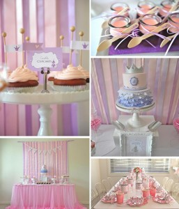 Princess Party via Kara's Party Ideas #decorations #cake #idea #castle #DressUp (1)