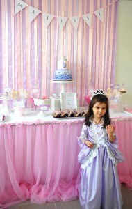 Princess Party via Kara's Party Ideas #decorations #cake #idea #castle #DressUp (14)