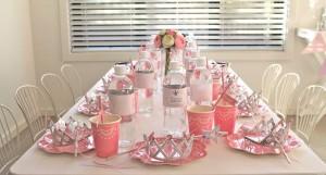 Princess Party via Kara's Party Ideas #decorations #cake #idea #castle #DressUp (38)