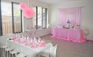 Princess Party via Kara's Party Ideas #decorations #cake #idea #castle #DressUp (11)