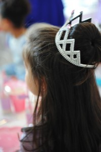 Princess Party via Kara's Party Ideas #decorations #cake #idea #castle #DressUp (6)