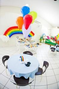 Rainbow Birthday Party via Kara's Party Ideas | Kara'sPartyIdeas.com #Rainbow #Party #Ideas #Birthday #Planning #Supplies (23)