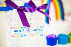 Rainbow Birthday Party via Kara's Party Ideas | Kara'sPartyIdeas.com #Rainbow #Party #Ideas #Birthday #Planning #Supplies (21)