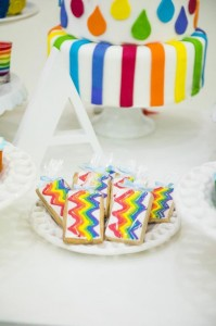 Rainbow Birthday Party via Kara's Party Ideas | Kara'sPartyIdeas.com #Rainbow #Party #Ideas #Birthday #Planning #Supplies (19)