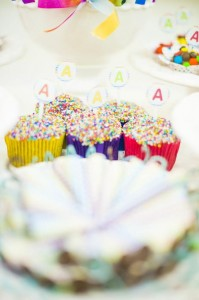 Rainbow Birthday Party via Kara's Party Ideas | Kara'sPartyIdeas.com #Rainbow #Party #Ideas #Birthday #Planning #Supplies (6)